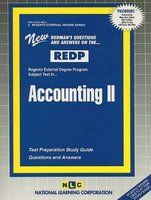 Accounting II (Regents External Degree Ser. : Redp-2) (Spiral bound): Jack Rudman