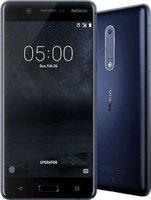 "Nokia 5 5.2"" Quad-Core Smartphone with LTE (Tempered Blue):"