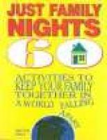 Just family nights (Paperback): Susan Vogt