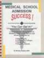 Medical School Admissions Success: Stanley Zaslau