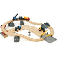 Brio Rail & Road Quarry Set: