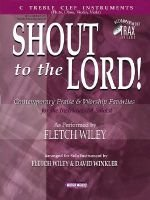 Shout to the Lord! - C Treble Clef Instruments (Paperback): Carlo Menotti Gian