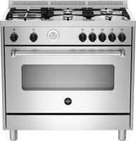 La Germania Americana Gas Hob & Gas Oven / Gas Grill (Stainless Steel | 900mm):