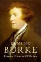 Edmund Burke (Hardcover, Abridged ed): Conor Cruise O'Brien