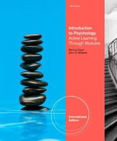Introduction to Psychology - Active Learning through Modules, International Edition (with Concept Modules with Note-Taking and...