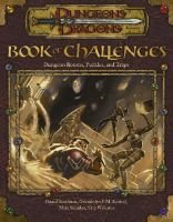 Book of Challenges - Dungeon Rooms, Puzzles, and Traps (Hardcover): Daniel Kaufman, Gwendolyn F. M. Kestrel