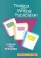 Thinking and Writing for Publication - A Guide for Teachers (Paperback): Bonita L. Wilcox