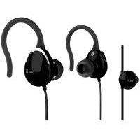 Iluv Ultra Compact In-Ear Clips with Volume Control (Black):