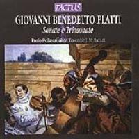 Various Artists - Sonatas & Trio Sonatas (CD): G. B. Platti, Paolo Oobb Pollastri, J M Anciuti Ens