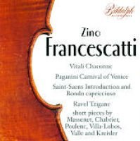 Various Artists - Francescatti Plays Favorite Violin Pieces (CD): Ravel, Paganini, Various Artists