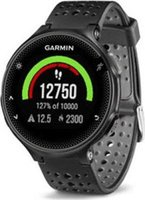 Garmin Forerunner 235 GPS Running Watch with Wrist Heart Rate Monitor (Black and Grey):