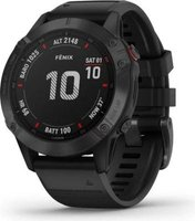 Garmin Fenix 6S Pro Smartwatch (Black with Black Band):