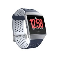 Fitbit Ionic Fitness GPS Smartwatch - Adidas Edition (Ink Blue and Ice Grey):