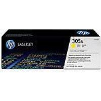 HP No.305A Yellow LaserJet Toner Cartridge (CE412A):