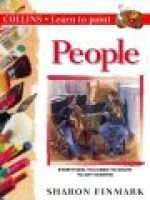 Learn to Paint People (Paperback): Sharon Finmark