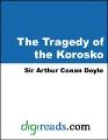The Tragedy of the Korosko (Electronic book text): Arthur Conan Doyle