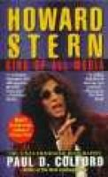 Howard Stern: King of All Media (Paperback): P. Colford