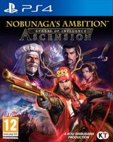 Nobunaga's Ambition: Sphere of Influence - Ascension (PlayStation 4, Blu-ray disc):