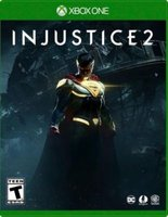 Injustice 2 (XBox One, Blu-ray disc):
