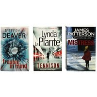 Crime 3-Book Collection - Trouble In Mind / Tennison / Mistress (Paperback):