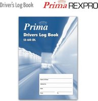 Prima Driver's Log Book (A5)(40 Pages):