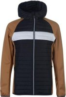 Jack and Jones Mens Multi Quilted Jacket (Chipmunk):