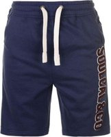 SoulCal Mens Large Logo Fleece Shorts (Navy):