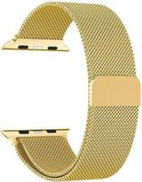 Linxure 38mm Milanese Apple Watch Replacement Strap - Gold: