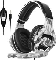 Sades 810 Camouflage Gaming Headphones with Microphone: