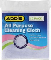 Addis All Purpose Cleaning Cloth (10 Pack):