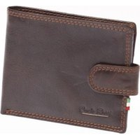 Paolo Rossi Genuine Leather Jaguar Range Wallet (Brown):