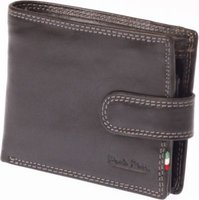 Paolo Rossi Genuine Leather Secure Range Wallet (Black):