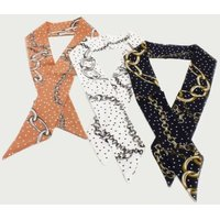 Multi Colour Chain Detail Neckerchief: