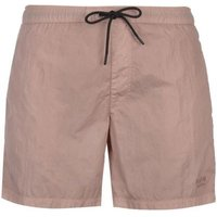 Firetrap Mens Blackseal Dye Swim Shorts - Pink [Parallel Import]: