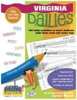 Viriginia Dailies - 180 Daily Activities for Kids (Spiral bound): Carole Marsh