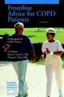 Frontline Advice for Copd Patients (Paperback, illustrated edition): Thomas & Good, James Jr. Petty