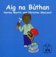 Aig Na Buthan - At the Shops (English, Irish, Paperback): Norma Martin, Christine MacLeod