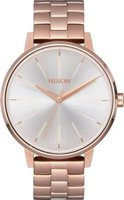 Nixon Ladies Kensington SS Analog Watch (Rose Gold & White):