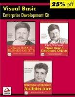 Professional Visual Basic Enterprise Development Kit (Kit): Rockford Lhotka, Joseph Moniz