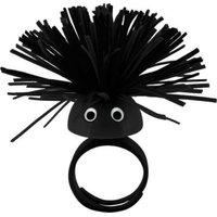 Pylones Black Face Ring: