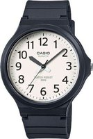 Casio Analog Wrist Watch (Navy & White):