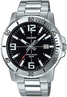 Casio Analogue Wrist Watch (Silver):