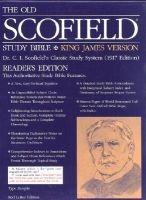 Schofield Study Bible Leather Bound BL (Paperback): Bible