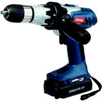 Ryobi Lithium-Ion Cordless Driver Drill (18V) (Battery Included):