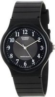Casio Resin Analog Wrist Watch (Black):