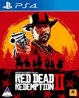 Red Dead Redemption 2 (PlayStation 4, Blu-ray disc):