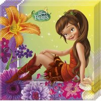 Disney Fairies Magic 2-Ply Paper Napkins (20 Pack):