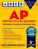 Ap United States History (Paperback, 5th edition): John W Crum