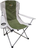 Afritrail Oryx Deluxe Folding Armchair (Green)(120kg):
