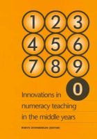 Innovations in Numeracy - Teaching in the Middle Years (Paperback): Robyn Zevenbergen